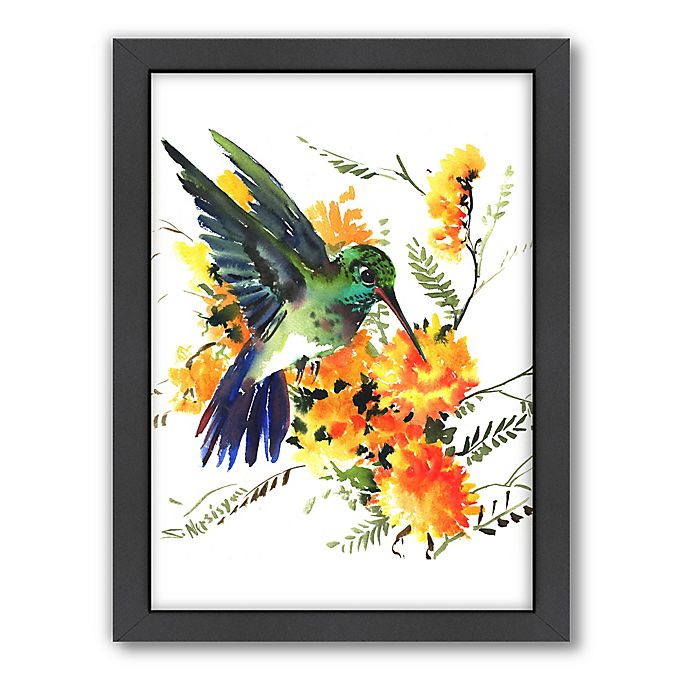 Alternate image 1 for Americanflat Original Suren Nersisyan Collection Hummingbird 6 Wall Art