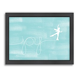 Americanflat Jill Broadhacker Skating For Joy Wall Art