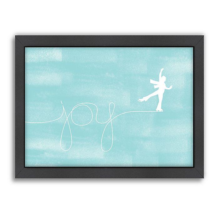 Alternate image 1 for Americanflat Jill Broadhacker Skating For Joy 27-Inch x 21-Inch Wall Art