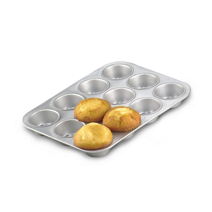 Alternate image 1 for Chicago Metallic™ Commercial 12-Cup Muffin Pan