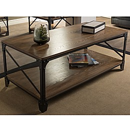 Baxton Studio Greyson Antique Bronze Coffee Table