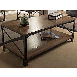 Baxton Studio Greyson Antique Bronze Coffee Table