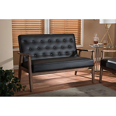 Baxton Studio Sorrento Loveseat