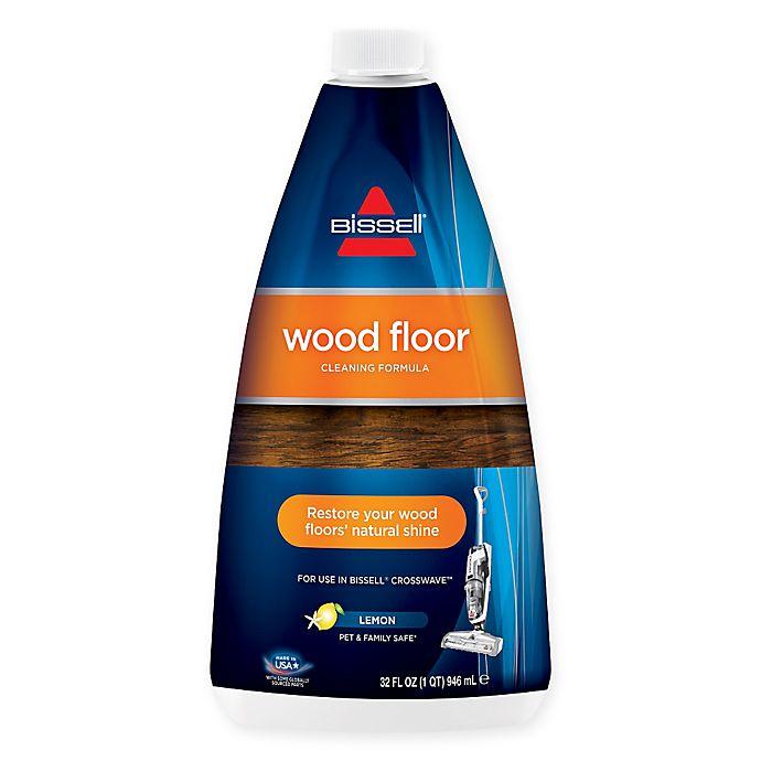 Alternate image 1 for BISSELL® 32 oz. Wood Floor Cleaning Formula