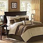 Madison Park Palmer 7-Piece King Comforter Set in Natural