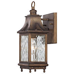 The Great Outdoors ® Wilshire Park 1-Light Wall Mount in Portsmouth Bronze