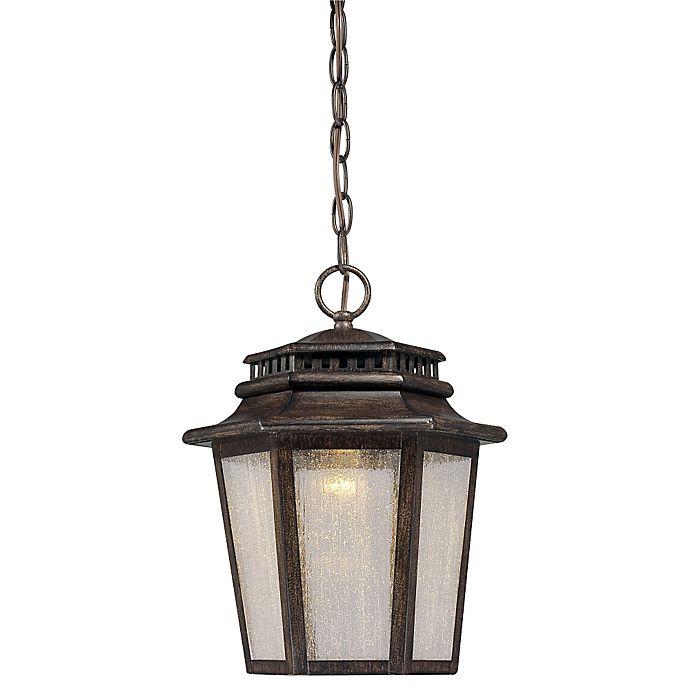 Alternate image 1 for Minka-Lavery® Wickford Bay™ LED Lantern with Iron Oxide Finish