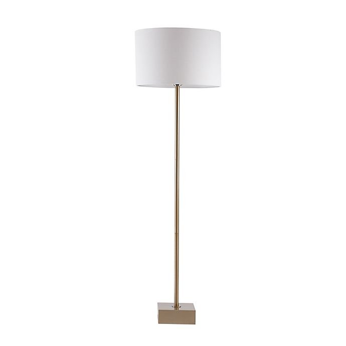 Alternate image 1 for Madison Park Signature Bringham Floor Lamp in Gold