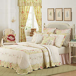 Mary Jane's Home Prairie Bloom Bedspread in Yellow