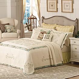 Mary Jane's Home Vintage Treasure Bedspread in Green