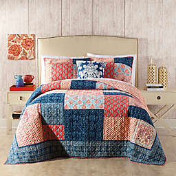 Jessica Simpson Grace Quilt in Blue