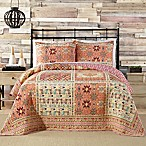 Jessica Simpson Tika Full/Queen Quilt in Coral/Red