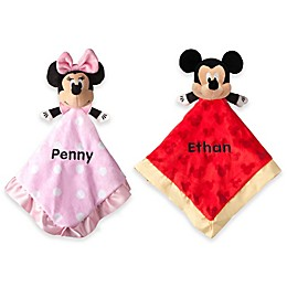 Disney® Mickey and Minnie Mouse Blankie Plush Collection