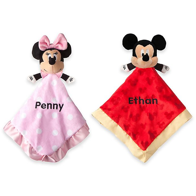 Disney 174 Mickey And Minnie Mouse Blankie Plush Collection