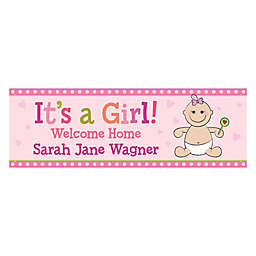 "It's a Girl!"" Banner"