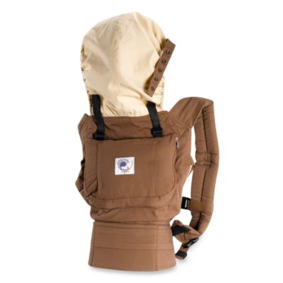 ERGObaby® Organic Chocolate Brown Baby Carrier   Bed Bath & Beyond