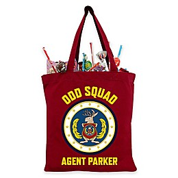 Odd Squad Trick-Or-Treat Bag in Red