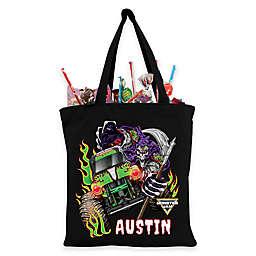 Monster Jam Grave Digger Trick-Or-Treat Bag in Black