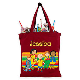 Caillou and Friends Trick-Or-Treat Bag in Red