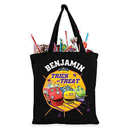 Chugginton Trick-Or-Treat Bag in Black