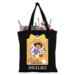 "Dora the Explorer ""A-Dora-Ble"" Trick-Or-Treat Bag in Black"