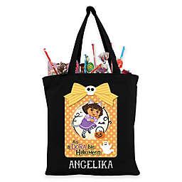 "Dora the Explorer ""A-Dora-Ble"" Trick-Or-Treat Bag in Black"