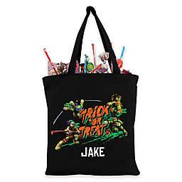 Personalized Teenage Mutant Ninja Turtles Trick-Or-Treat Bag in Black