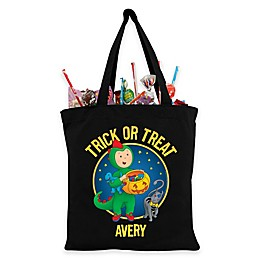 Personalized Caillou Trick-Or-Treat Bag in Black