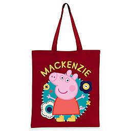 Peppa Pig Flower Fun Trick-Or-Treat Bag in Red