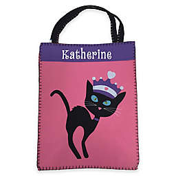 Groovy Cat Trick-Or-Treat Bag in Pink