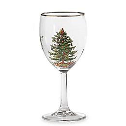 Spode® Christmas Tree Wine Glasses (Set of 4)