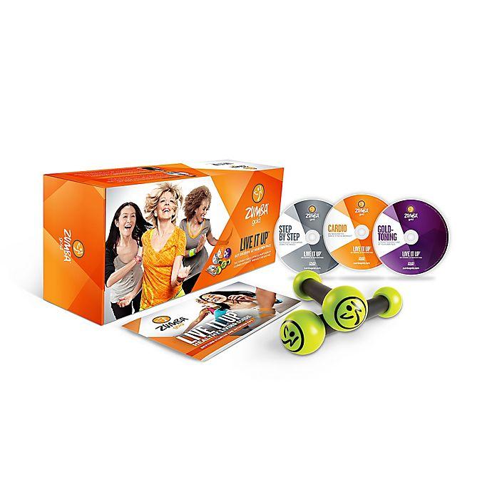 Zumba Fitness Live Dvd: Zumba® Gold Live It Up DVD System
