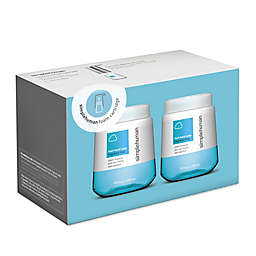 simplehuman® 10 fl. oz. Fragrance-Free Foaming Hand Soap (Set of 2)