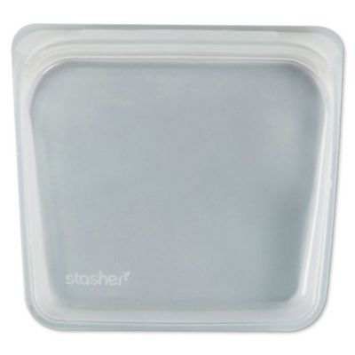 Stasher Reusable 15 oz. Silicone Food Storage Bag in Clear
