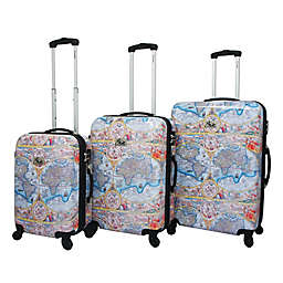 Chariot One World 3-Piece Spinner Suitcase Set in Color