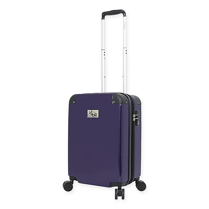 Alternate image 1 for Chariot Ricco Carry On Spinner Suitcase in Purple