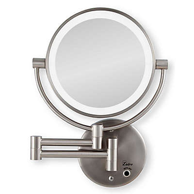 Zadro™ 10x/1x Cordless LED Lighted Wall Mirror