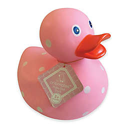 cribmates™ Polka Dot Duck in Pink
