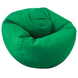 ACEssentials® Large Microsuede Bean Bag Chair in Green