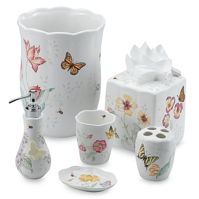 Lenox Butterfly Meadow Toothbrush Holder