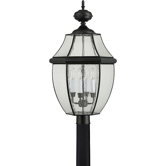 Quoizel Outdoor Lighting Newbury: Buy Quoizel Newbury Extra Large 4-Light Post Lantern In