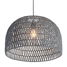Zuo® Paradise Ceiling Lamp in Grey