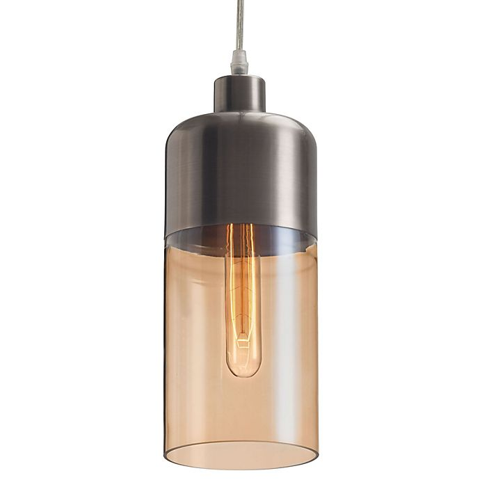 Alternate image 1 for Zuo® Vente Ceiling Lamp in Amber