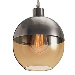 Zuo® Trente Ceiling Lamp in Amber