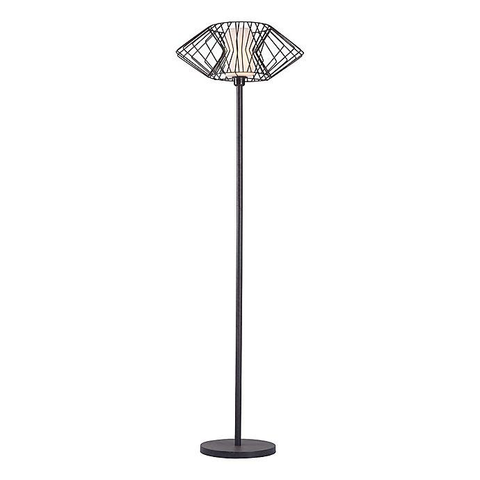 Zuo 174 Tumble Floor Lamp In Rust Bed Bath Amp Beyond