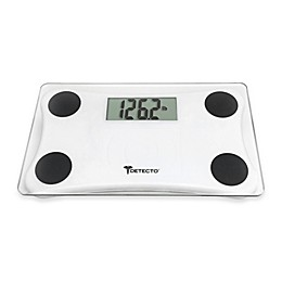 Detecto® Glass LCD Digital Scale