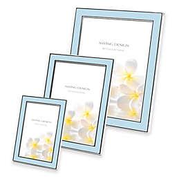 Swing Design™ Lura Picture Frame in Blue/Silver
