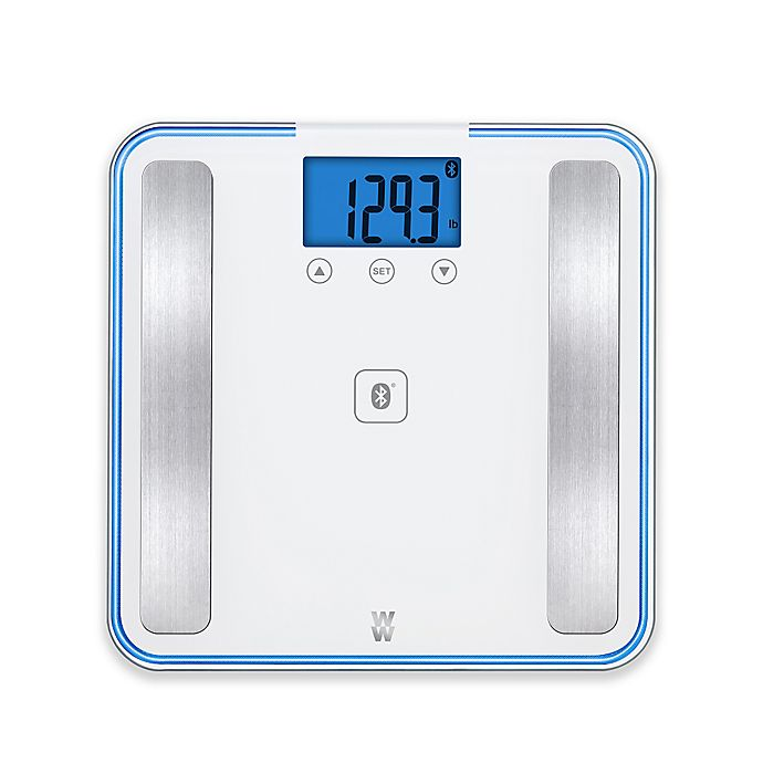 Alternate image 1 for Weight Watchers® by Conair™ Body Analysis Bluetooth® Digital Bathroom Scale