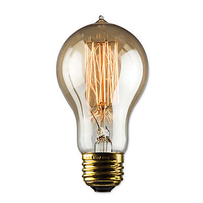 Luminance Nostalgia 30-Watt A19 Amber Light Bulb