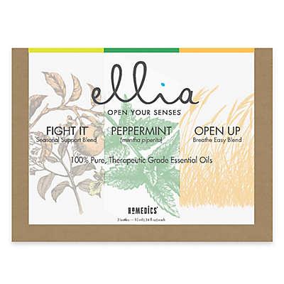 """Ellia Essential Oil: """"Breathe Deep"""" Signature Blends (Set of 3)"""